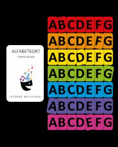 Alfabetkort (4 sæt)