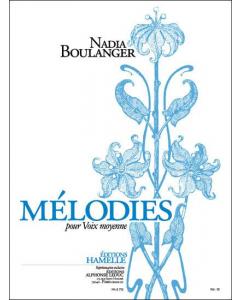Boulanger, Nadia: Mélodies pour Voix moyenne, Vol. 3 (Medium Voice, Piano)