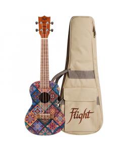 Flight Concert Ukulele AUC33 - Art (incl. Bag)