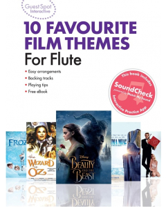 10 Favourite Film Themes for Flute - Guest Spot Interactive