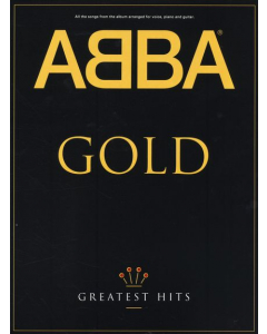 ABBA Gold: Greatest Hits (Piano / Vocal / Guitar Chords)