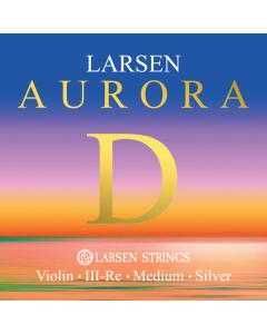 Larsen Aurora D-streng til Violin (Silver)