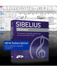 Sibelius Ultimate - ÅRSABONNEMENT