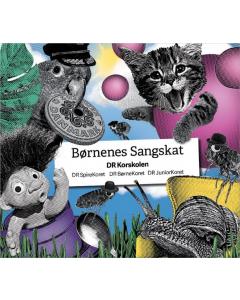 Børnenes Sangskat CD DR korskolen