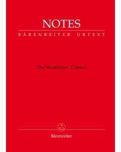 Notes - The Musician's Choice - Bärenreiter Notebook Mozart Red