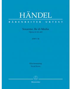 Händel, Georg Friedrich: Sosarme, Re di Media, HWV 30 (Vocal Score)