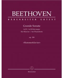 "Beethoven: Grande Sonate in B für Klavier / Grande Sonate in B-flat major, op. 106 ""Hammerklavier"""