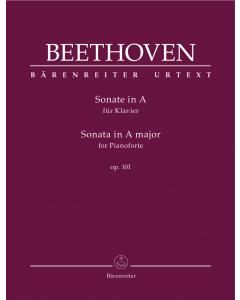 Beethoven, Ludwig van: Sonate in A für Klavier / Sonata for Pianoforte in A major, op. 101