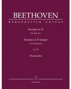 "Beethoven, Ludwig van: Sonate in D für Klavier / Sonata for Pianoforte in D major, op. 28 ""Pastorale"""
