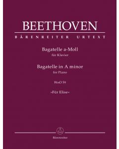 "Beethoven, Ludwig van: Bagatelle A minor: ""Für Elise"" (Piano)"