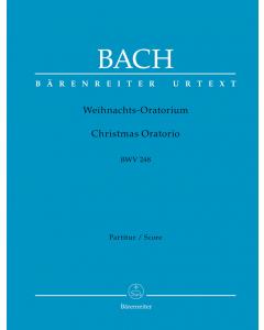 Bach: Weihnachtsoratorium, BWV 248 (Full Score) SOFTCOVER