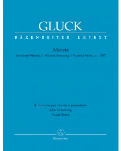 Gluck, Christoph Willibald: Alceste - 1767 Vienna Version (Vocal Score)