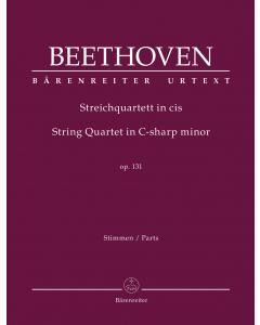 Beethoven: Streichquartett cis / String Quartet in C-sharp minor, op. 131 (Set of Parts)