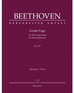 Beethoven: Große Fuge für Streichquartett, op. 133 (Set of Parts)