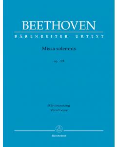 Beethoven: Missa solemnis op. 123 (Vocal Score)