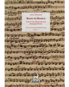 Back to Basics - A Practice Book for the Baroque Flute (Anja Thomann) - ENGLISH VERSION