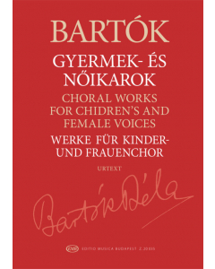Bartók: Choral Works for Children's and Female Voices
