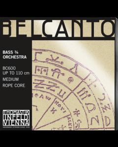 Belcanto Orchestra strenge til Kontrabas 3/4 (Sæt)