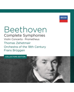 Beethoven: Complete Symphonies, Violin Concerto & Prometheus (Orchestra of the 18th Century, Frans Brüggen) (7CD-BOX)