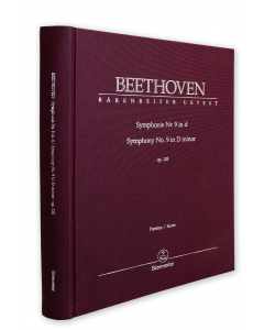 Beethoven: Symphonie nr. 9 in d / Symphony no. 9 in D minor, op. 125 (Full Score) (CLOTHBOUND)