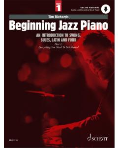 Beginning Jazz Piano, Part 1 (Tim Richards) (incl. Online Material)