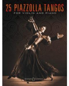 25 Piazzolla Tangos (Violin, Piano)