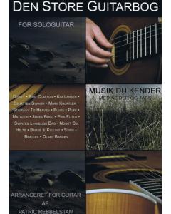 Den Store Guitarbog (Patric Rebbelstam)