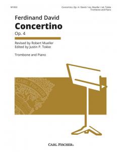 David, Ferdinand: Concertino op. 4 (Trombone, Piano)