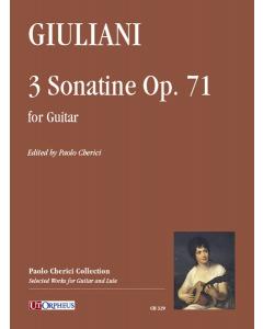 Giuliani, Mauro: 3 Sonatine, op. 71 (for Guitar)