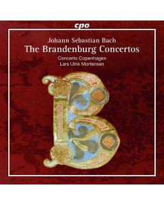Bach: The Brandenburg Concertos (Concerto Copenhagen; Lars Ulrik Mortensen) (2CD)