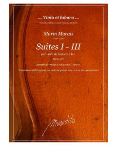 Marais: Suites I - III (Viola da gamba, Basso Continuo)