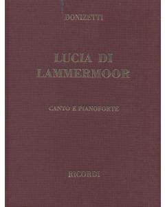 Donizetti: Lucia di Lammermoor (Vocal Score) HARDBACK