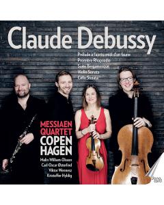 Claude Debussy (Messiaen Quartet Copenhagen) (CD)