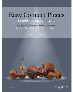 Easy Concert Pieces for String Quartet or String Orchestra