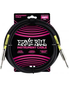 Ernie Ball Instrumentkabel 3m