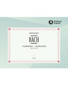 Bach, J.S.: Orgelbüchlein, BWV 599-644 (ed. Heinz Lohmann)