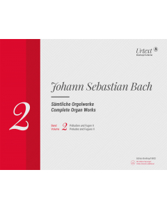 Bach, J.S.: Complete Organ Works (Vol. 2: Präludien und Fugen II) - ed. by David Schulenberg