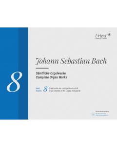 Bach, J.S.: Complete Organ Works (Vol. 8: Orgelchoräle der Leipziger Handschrift (18 Choräle)) - ed. by Jean-Claude Zehnder