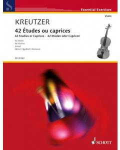 Kreutzer 42 etudes