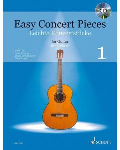 Easy Concert Pieces for Guitar / Leichte Konzertstücke für Gitarre - Vol. 1 (incl. CD)