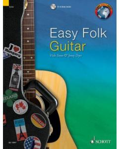 Easy Folk Guitar (incl. CD)