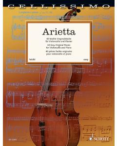 Arietta - 40 Easy Original Pieces for Violoncello and Piano