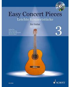 Easy Concert Pieces for Guitar / Leichte Konzertstücke für Gitarre - Vol. 3 (incl. CD)
