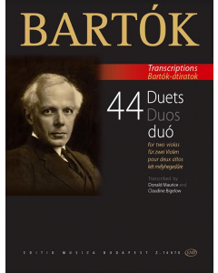 Bartók: 44 Duets for two violas