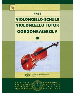 Friss: Violoncello-Schule III