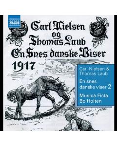 En snes danske viser 2 (Musica Ficta, Bo Holten) (CD)