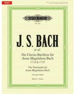 Bach, J.S.: Die Clavier-Büchlein für Anna Magdalena Bach 1722 & 1725 (Piano)