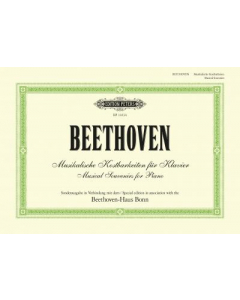 Beethoven: Musical Souvenirs for Piano