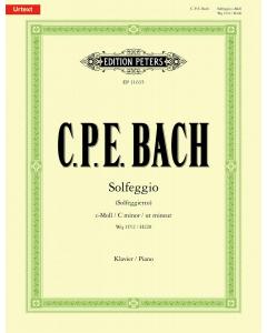 Bach, Carl Philipp Emanuel: Solfeggio (Solfeggiette) in C minor (Piano)