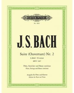Bach: Suite (Ouverture) Nr. 2 h-Moll / B minor, BWV 1067 (Flute, Piano)
